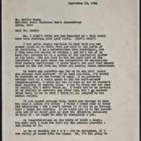 Letter 066, pg. 1