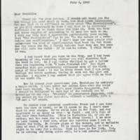 Letter 084, pg. 1