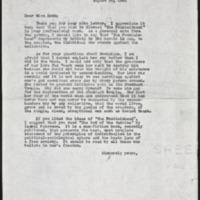 Letter 091
